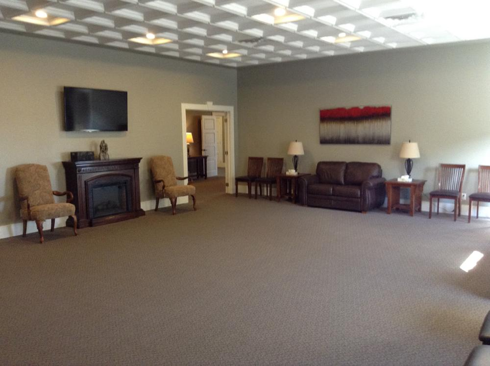 Glengarry Funeral Home, Visitation Suite