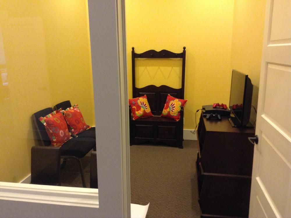 Glengarry Funeral Home, Children's Playroom