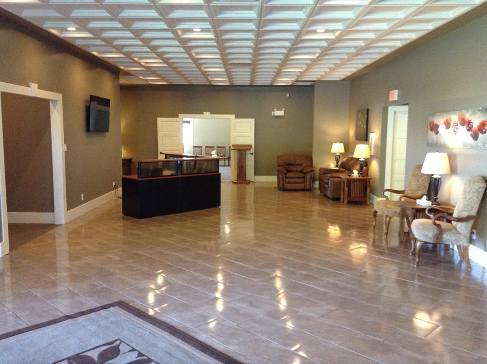Glengarry Funeral Home, Main Entrance / Lobby